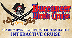 Buccaneer Pirate Ship Interactive Cruises